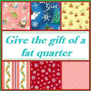 give the gift of fat quarter