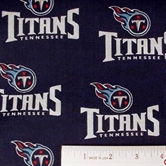 Picture of NFL Football Tennessee Titans 18x29 Cotton Fabric
