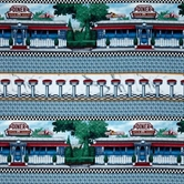 Picture of Today's Special Diner and Floor Stool Stripe Cotton Fabric