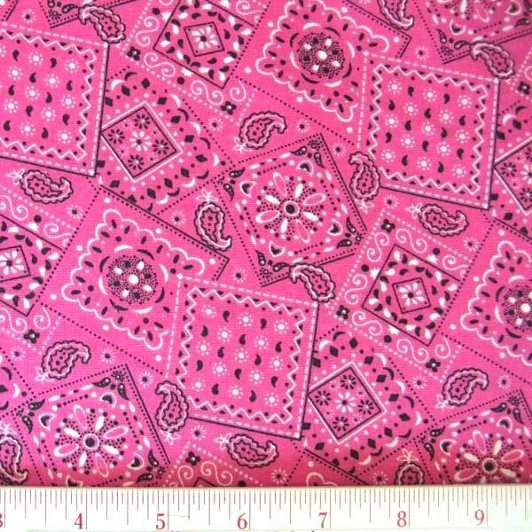Bandana Pattern Fuchsia bandana pattern