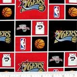 Picture of NBA Basketball Philadelphia 76ers Cotton Fabric