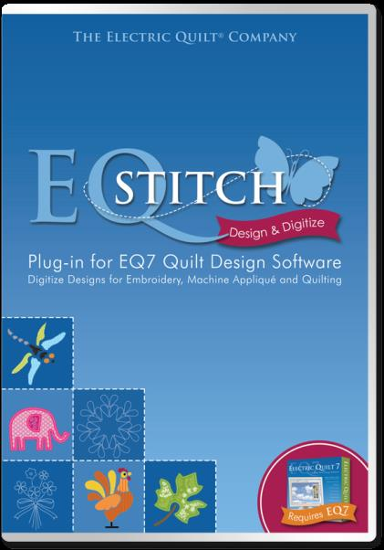 Electric quilt eqstitch embroidery applique design