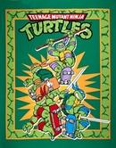 Picture of TMNT Retro Teenage Mutant Ninja Turtles Large Cotton Fabric Panel