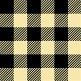 Picture of Flannel Mad about Plaids Cream and Black Plaid Cotton Fabric