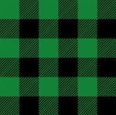 Picture of Flannel Mad about Plaids Green and Black Plaid Cotton Fabric