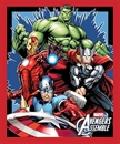 Picture of Avengers Assemble Marvel Superheroes Hulk Large Cotton Fabric Panel