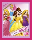 Picture of Disney I Am Princess Cinderella Aurora Large Cotton Fabric Panel