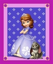 Picture of Disney Princess Sofia the First Large Cotton Fabric Panel
