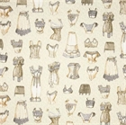 Picture of Unmentionables Victorian Lady's Undergarments Lingerie Cotton Fabric