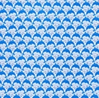 Picture of Mini Dolphins in The Waves Cotton Fabric