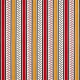 Picture of Big Red Int Harvester Tire Tread Gold and Red Stripe Cotton Fabric