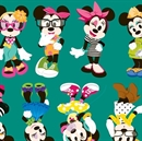 Picture of Disney Minnie Mouse Passion for Fashion Cotton Fabric