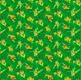 Picture of TMNT Teenage Mutant Ninja Turtle Mutated in 1984 Cotton Fabric