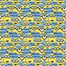 Picture of Despicable Me 1 In A Minion Blue Bello Minions Cotton Fabric