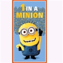 Picture of Despicable Me 1 In A Minion Dusty 24x44 Large Cotton Fabric Panel