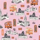 Picture of British Invasion UK London Destinations Big Ben Cotton Fabric