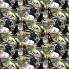 Picture of Wild Wings Best in Breed Labrador Retriever Dog Cotton Fabric