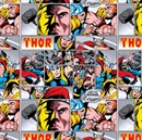 Picture of Marvel Comics Thor Comic Strip Cotton Fabric