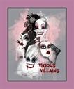 Picture of Disney Vicious Villains Female Villain Large Cotton Fabric Panel