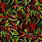 Picture of Hot Chili Peppers Green Red Pepper RJR Farmers Market Cotton Fabric
