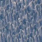 Picture of Silent Flight Denim Blue Pine Trees Cotton Fabric
