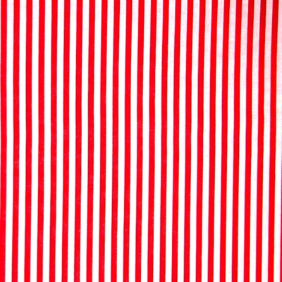 Red White Striped Fabric Cotton, Red White Striped Fabric