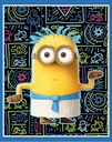 Picture of Minion Movie Egyptian Minions Large Cotton Fabric Panel