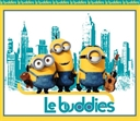 Picture of Minion Movie Le Buddies Large Cotton Fabric Panel