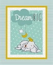 Picture of Disney Dumbo Sweet Dreams Nursery Large Cotton Fabric Panel