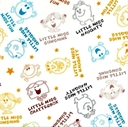 Picture of Mr Men and Little Miss Childrens Book Little Miss Toile Cotton Fabric