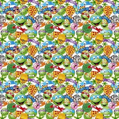 Tmnt icon toss teenage mutant ninja turtle emoji 4my3boyz for Emoji material by the yard