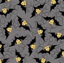 Picture of Despicable Me Bite Me Minion Bats Grey Cotton Fabric
