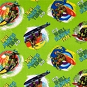 Picture of TMNT Teenage Mutant Ninja Turtles Shell Surfin Time Cotton Fabric