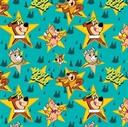 Picture of Yogi Bear Characters in Stars in Bali Hanna-Barbera Cotton Fabric