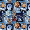 Picture of E.T. Movie Scenes Extra Terrestrial Alien Cotton Fabric