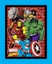 Picture of Avengers Assemble Marvel Superheroes Brick Large Cotton Fabric Panel