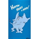 Picture of Horton Hears A Who! Dr. Seuss Horton 24x44 Large Cotton Fabric Panel