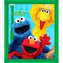 Picture of Sesame Street Elmo and Friends Large Cotton Fabric Panel