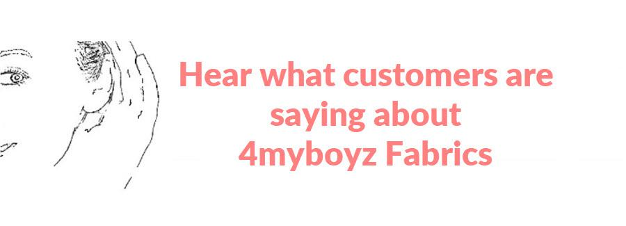 4my3boyz customer testimonials