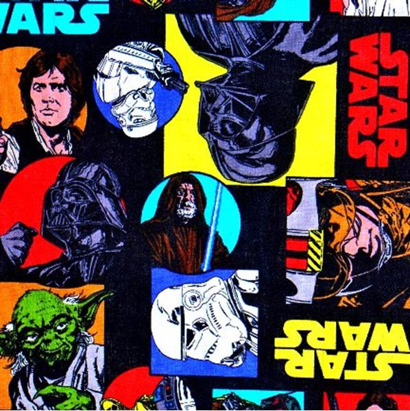 Picture for category Star Wars Fabrics
