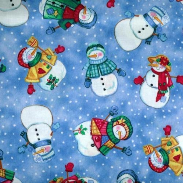 Picture for category Snowmen - Santa Fabrics