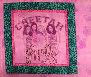 Disney The Cheetah Girls Cotton Fabric Pillow Panel
