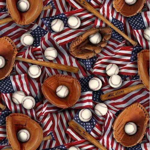 Cotton Fabric Sports Fabric Sports Patriotic American