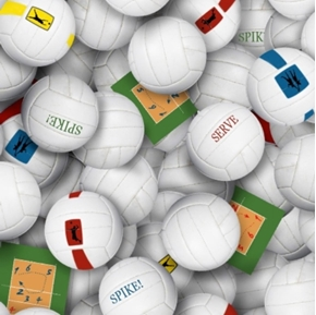 Volleyballs Volleyball Spike Serve Cotton Fabric