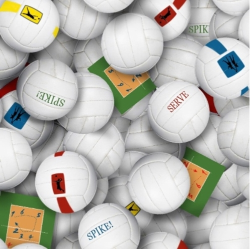 Volleyballs Volleyball Spike Serve Cotton Fabric