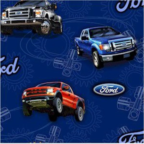 Cotton Fabric Travel Fabric Ford Motor Company F150
