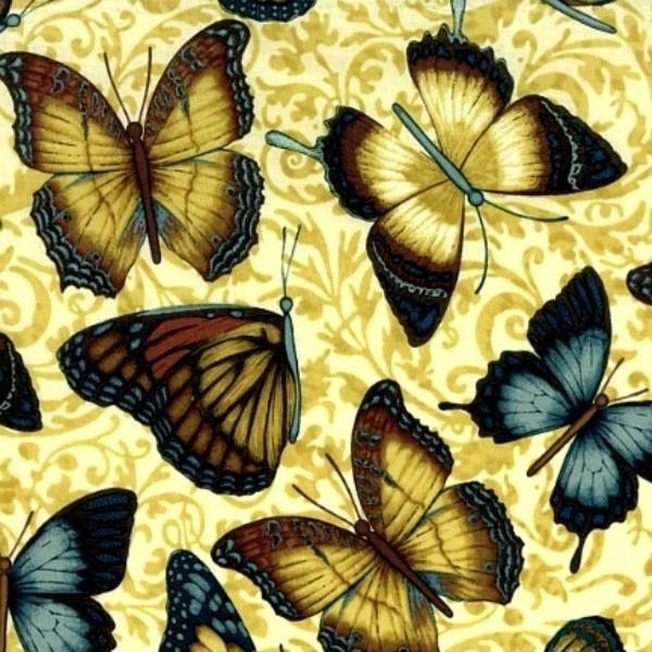 Picture for category Bugs - Butterfly Fabrics