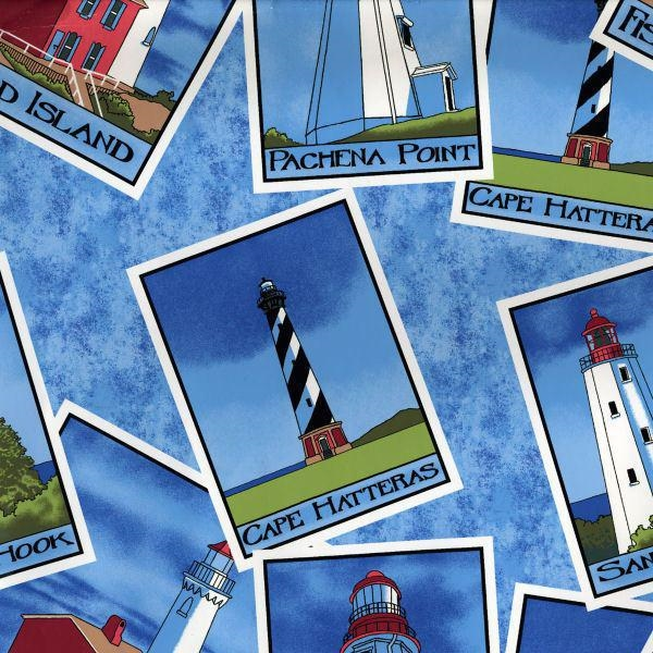 Picture for category Beach - Lighthouse Fabrics