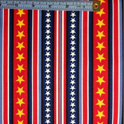 Hugs For Heroes Peanuts Stars And Stripes Red And Blue Cotton Fabric