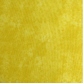 Quilting Temptations Lemon Yellow Blender Cotton Fabric